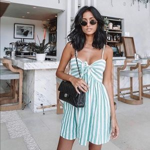 Storets Candy Striped Dress S